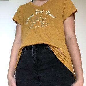 Soft Yellow APT.9 Graphic T-Shirt